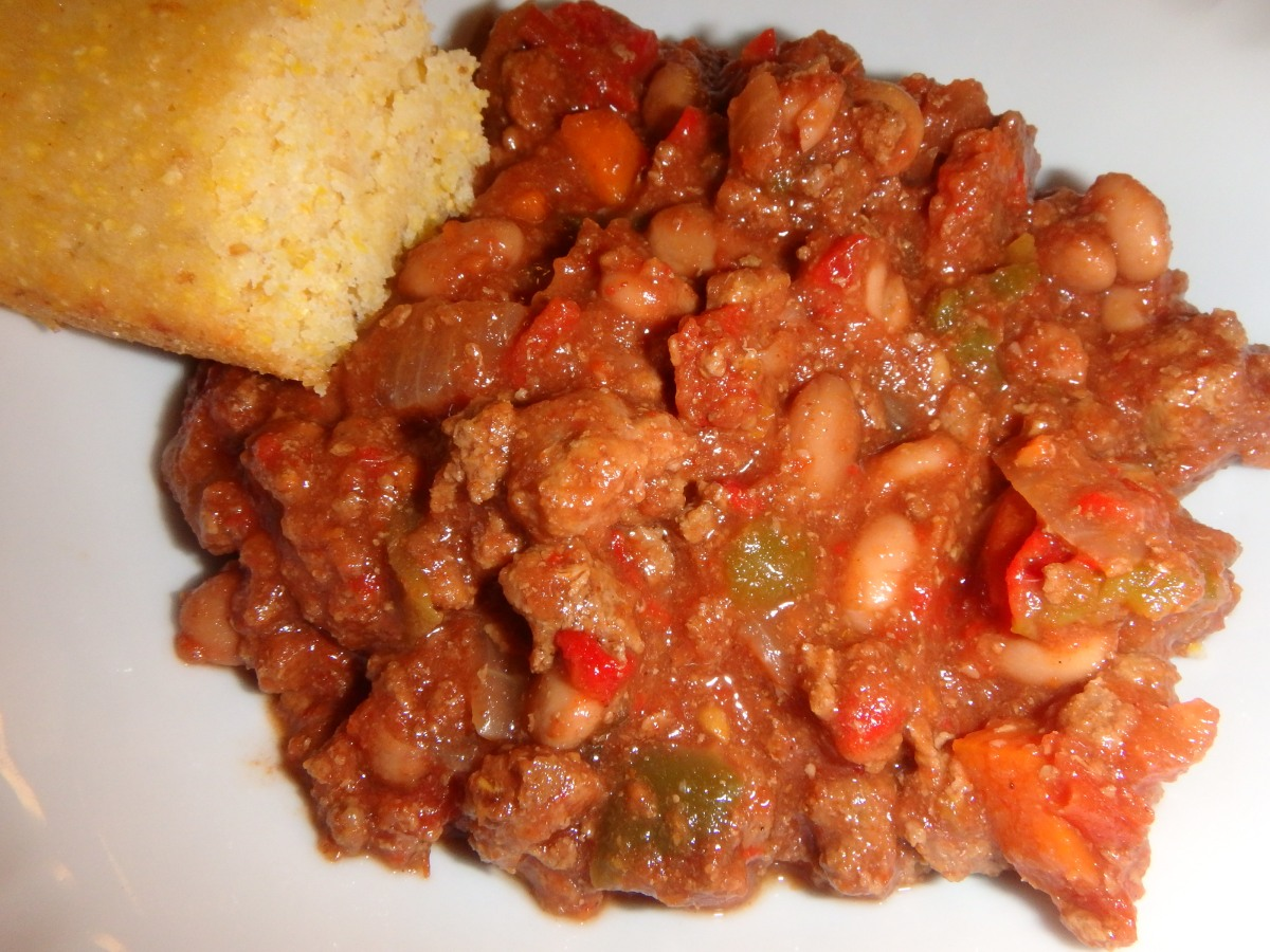 Mom's Crockpot Chili