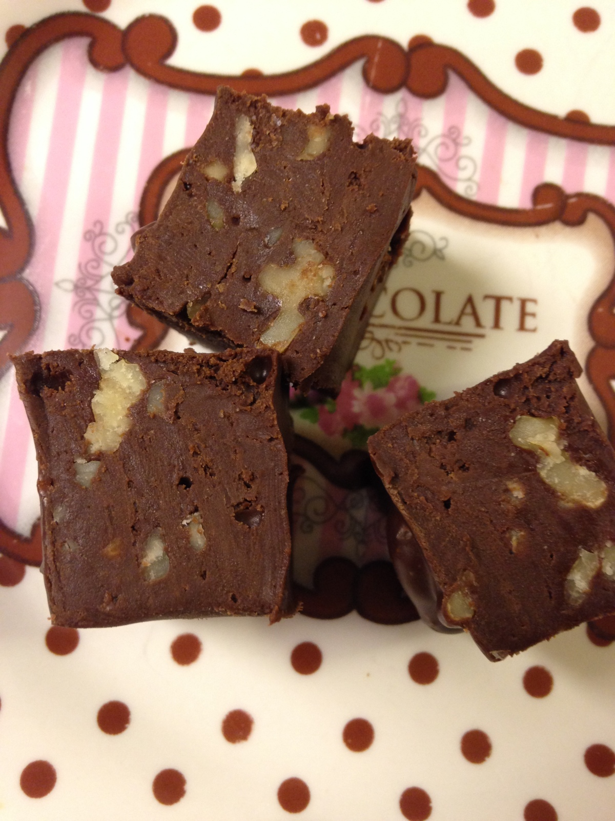Easy Fudge- Dairy Free!