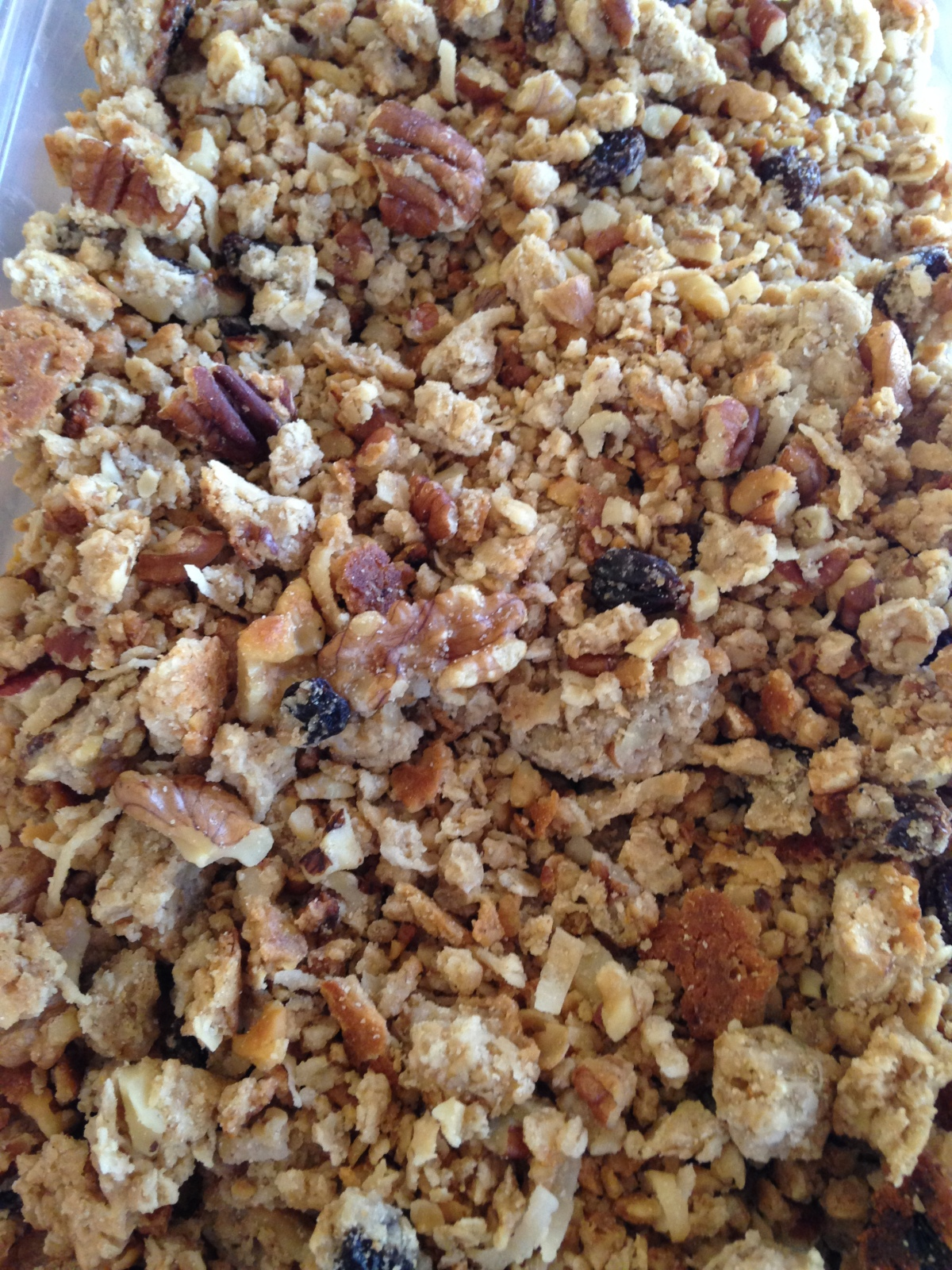 Simple Granola (Mom's version)