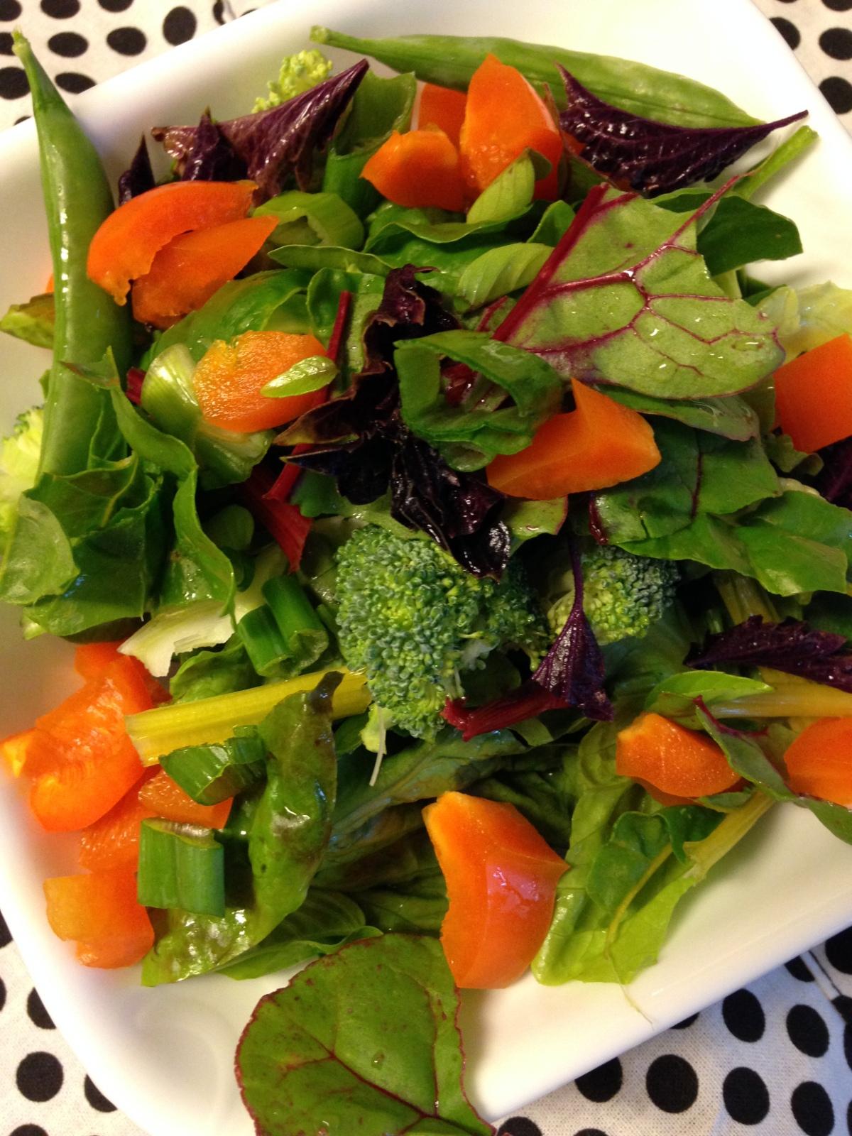 Homegrown Garden Salad