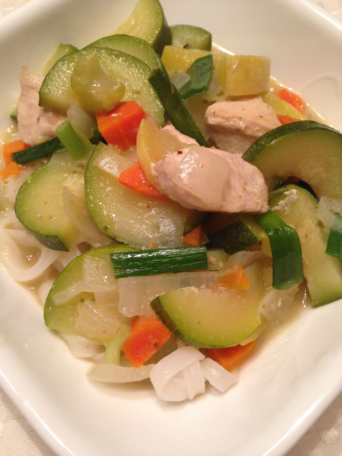 Green Curry and Vegetables