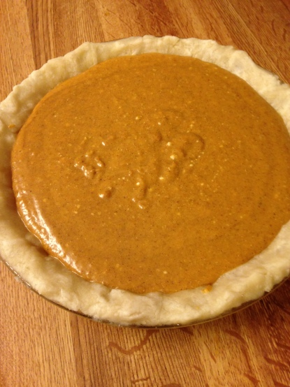 Pie right before going in the oven.