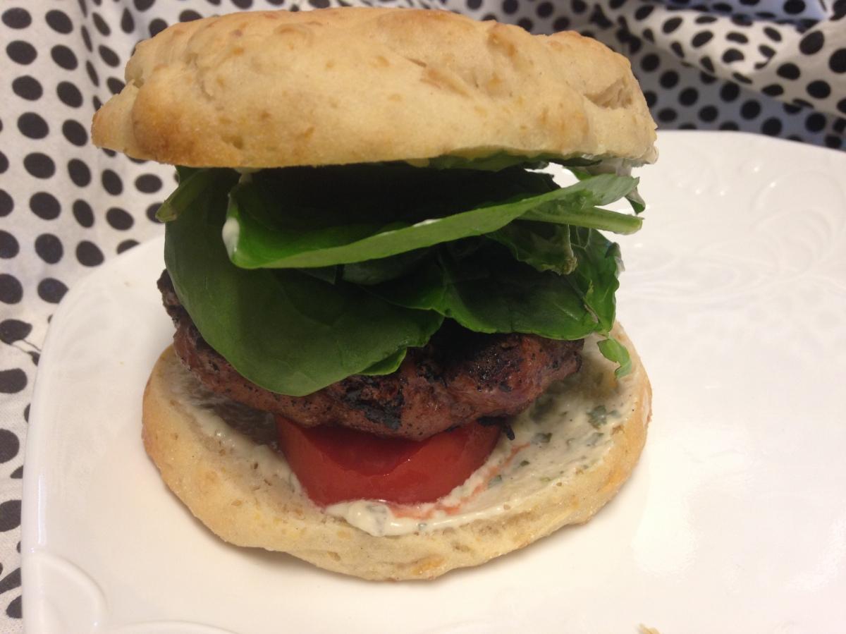 Basil Mayo Burger