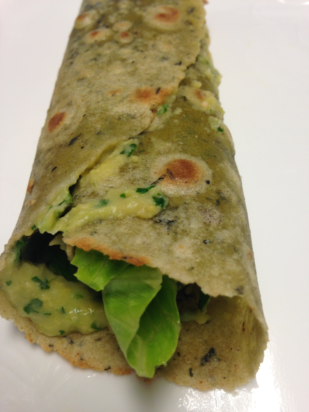 Cilantro Hummus (nosesame)